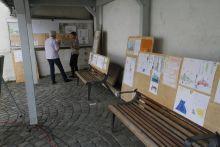 Ausstellung am RaBE Kerbestand