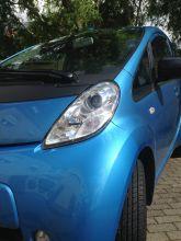 Unser blauer Peugeot iON